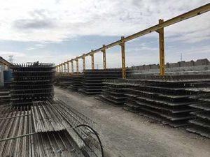 انبار تیرچه در کارخانه بناب شرکت تیرچه صنعتی اتحاد
