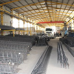 سالن تولید خرپا کارخانه بناب