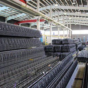 خرپاهای تولیدی در کارخانه تبریز